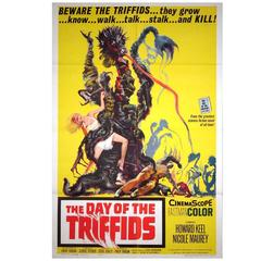 """The Day Of The Triffids"" Film Poster, 1963"