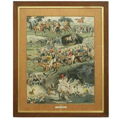 Horses Racing Print, A Racing Nightmare, Alfred Charles Havell