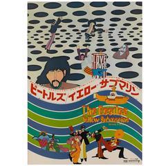 """Yellow Submarine"" Original Japanese Film Poster"