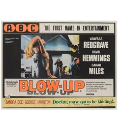 """Blow Up"" Original Film Poster"