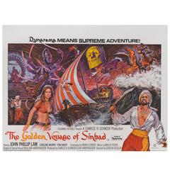 """Golden Voyage of Sinbad"" Original British Film Poster"