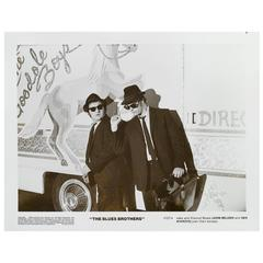 """the Blues Brothers"" Original US Black and White Poster"