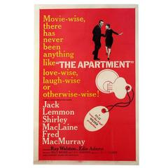 """The Apartment"" Film Poster, 1960"