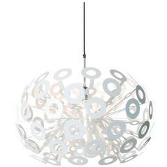 Moooi Dandelion Suspension Lamp in White Powder Coated Metal
