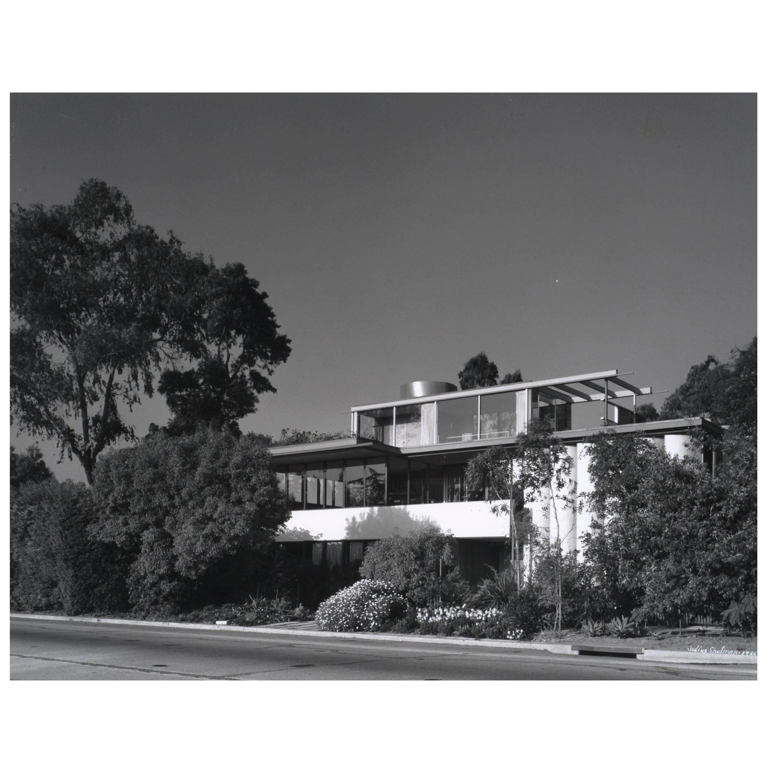 Julius Shulman VDL Research House by Richard Neutra Architectural Photograph