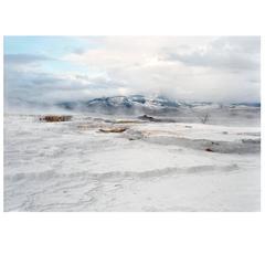 Victoria Sambunaris, Untitled (Travertine), Yellowstone National Park, 2008