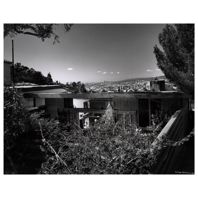 Julius Shulman John Lautner House Architectural Photograph