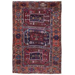 Superb Antique Kurdish Rug