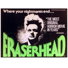 """Eraserhead"" Film Poster, 1977"