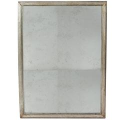 Silver Finished Antiqued Mirror