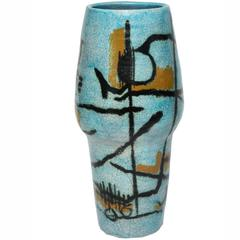 Large Studio Vase by Umberto Zannoni