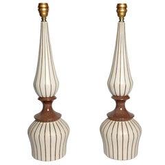 1960s Ceramic Lamp