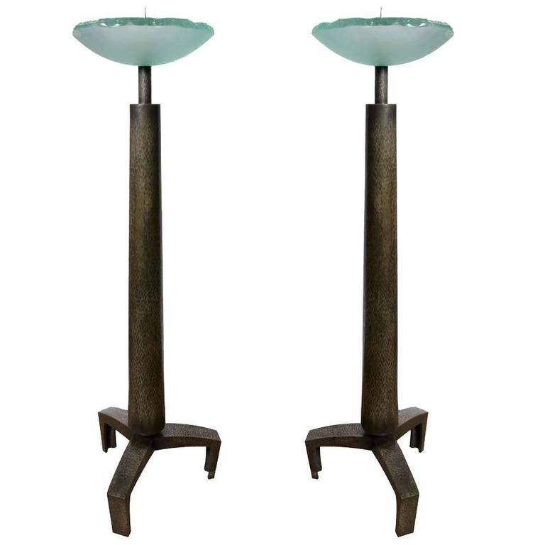 Awesome Pair of Candlestick by Max Ingrand