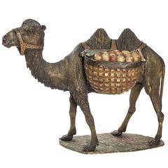 Wooden Camel Statue