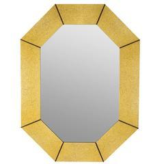 Karl Springer Style Mirror
