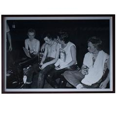 Sex Pistols Backstage, Large Photo by Dennis Morris, #1 Edition of 5