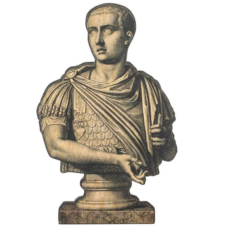 Cut-Out of a Roman Bust