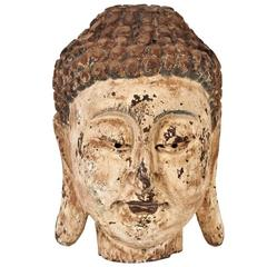 Antique Head of the Buddha