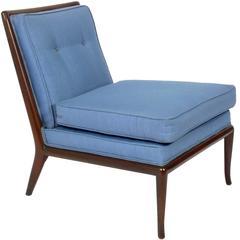 Modernist Slipper Chair Designed by T.H. Robsjohn-Gibbings