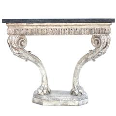 Mid-18th Century Beautiful Period Hand Carved George II Console