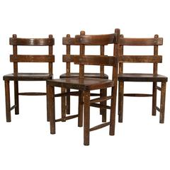 Set of Four Side Chairs by Axel Einar Hjorth