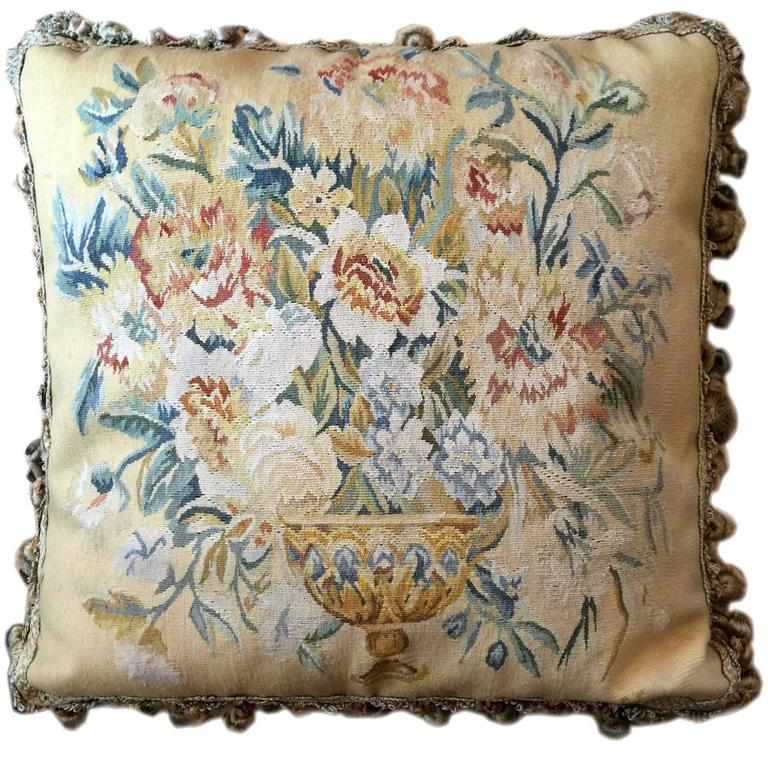 Decorative Pillows, French Style Aubusson The Pillow Cushion Covers For Sale