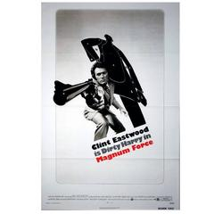 """Magnum Force"" Film Poster, 1973"