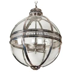Nickel-Plated Lantern