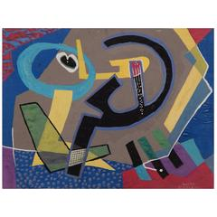 Rolph Scarlett Abstract Painting, circa 1930s