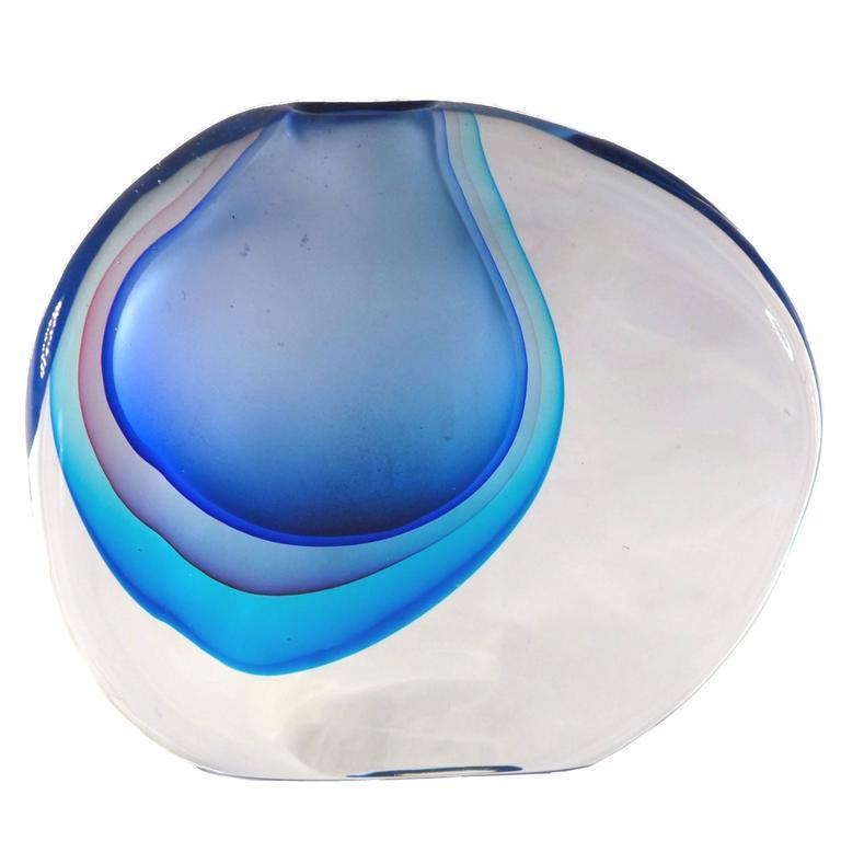 Antonio da Ros for Cenedese, Momento Vase, Splendid Massiccio Masterpiece For Sale