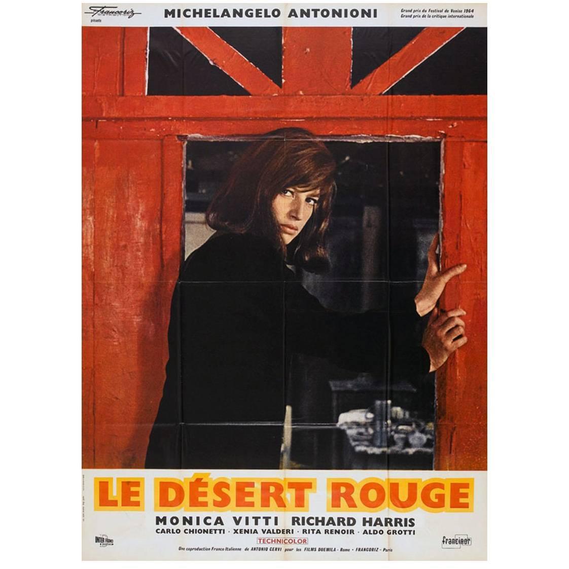 """""""Le Désert Rouge"""" Film Poster, 1964"""