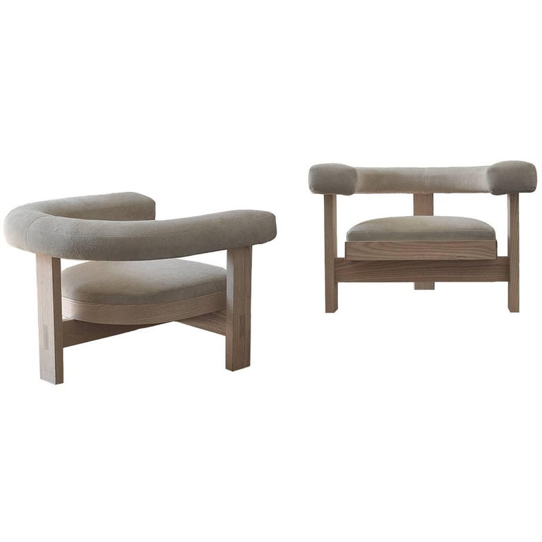 Silla Pista Lounge Chair by Jorge L Cruzata for Siglo Moderno For Sale