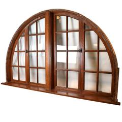 Large Arched Window, circa 1920