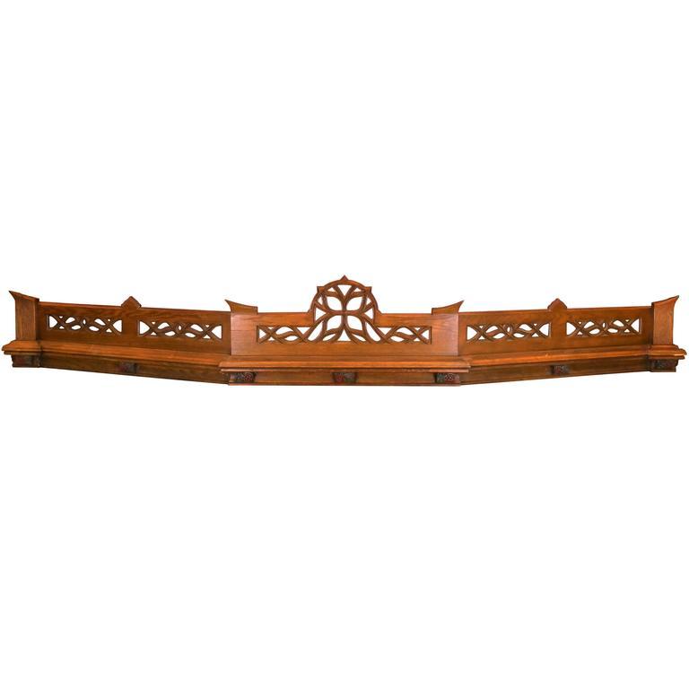 Antique Gothic Oak Header