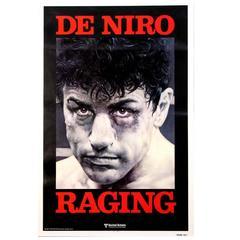 """""""Raging Bull"""" Film Poster, 1980"""