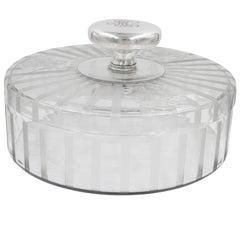 Hawkes Cookie Jar