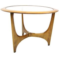 Simply Elegant Mid-Century Lane Walnut Side Table
