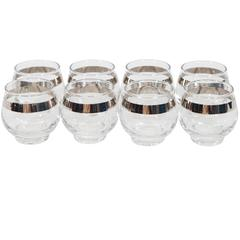 Dorothy Thorpe Cordial Glasses, Set of Eight