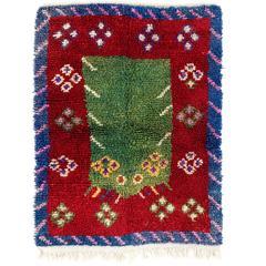 Striking Work of Woven Folk Art, Tulu Rug