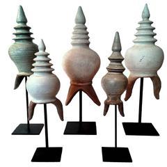 Selection of Thai Stupa Details