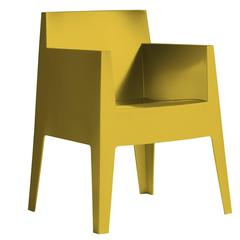 """""""Toy"""" Mustard Yellow or Carnation Stackable Armchair by P. Starck for Driade"""
