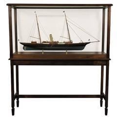 "Model of J. Pierpont Morgan's American Sham Yacht ""Corsair II"""