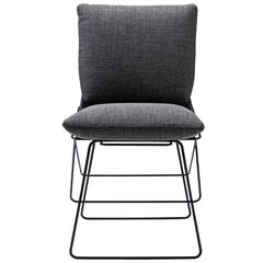 Enzo Mari Driade Sof Sof Chair in Graphite Gray, 1972