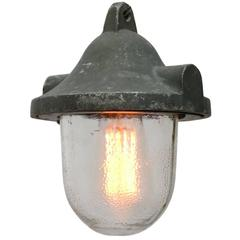Industrial Pendant with Frosted Glass (2x)