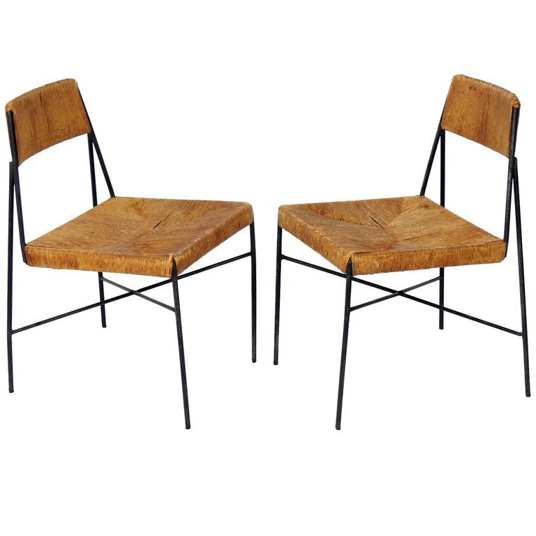 Rare Low Slung Lounge Chairs by Arthur Umanoff for Shaver Howard