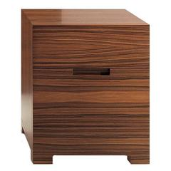 'Dean' Nightstand with a Minimalistic Design
