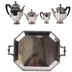 Christofle Tea and Coffee Service with Tray