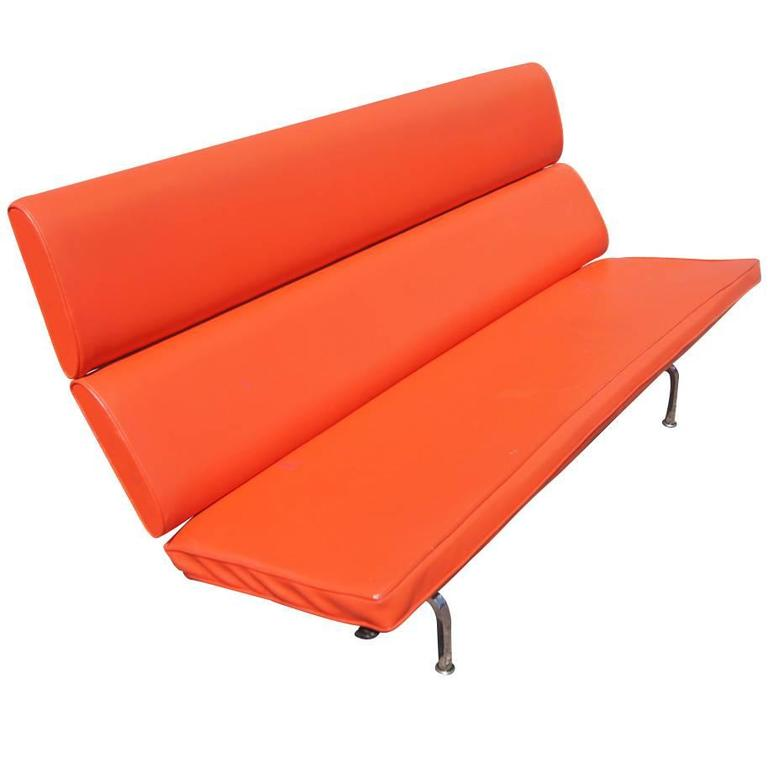 Eames For Herman Miller Compact Sofa For Sale