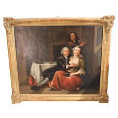 Erotic 18th Century Venetian Pendant Peintings