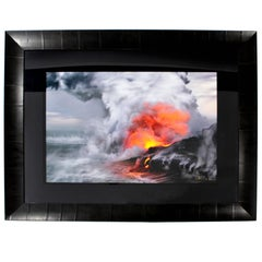 Contemporary Pele's Whisper Framed Photograph by Peter Lik Signed and Numbered